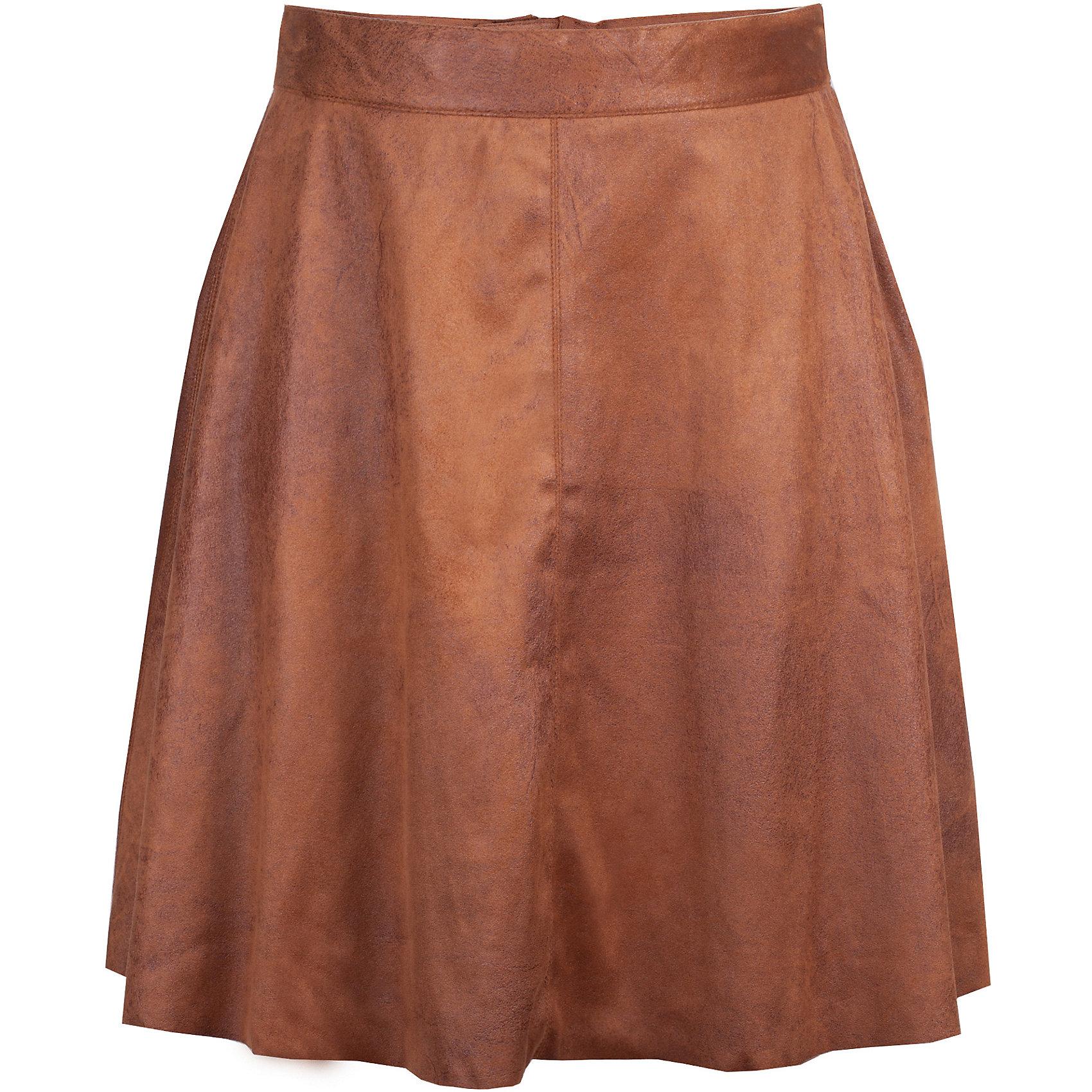 Юбка Gulliver для девочкиЮбки<br>Юбка Gulliver для девочки<br>Облегающие трикотажные брюки для девочки - изделие из разряда must have! Их секрет - в многофункциональности и удобстве. Они могут выглядеть как плотные колготки, красиво дополняя платье или свитшот; они могут быть леггинсами, прекрасно завершая look со свитером или удлиненной футболкой; они могут смотреться строгими облегающими брюками с блузкой или рубашкой, подчеркивая хрупкость и грациозность своей обладательницы. Если вы хотите приобрести стильную, практичную, комфортную вещь, которая не будет пылиться в шкафу, а станет базовой моделью в формировании повседневного образа, вам стоит купить синие брюки для девочки от Gulliver. В них ей гарантирован комфорт, свобода движений и возможность быть самой собой.<br>Состав:<br>65% вискоза            30% нейлон         5% эластан<br><br>Ширина мм: 207<br>Глубина мм: 10<br>Высота мм: 189<br>Вес г: 183<br>Цвет: оранжевый<br>Возраст от месяцев: 156<br>Возраст до месяцев: 168<br>Пол: Женский<br>Возраст: Детский<br>Размер: 146,152,158,164<br>SKU: 7077181