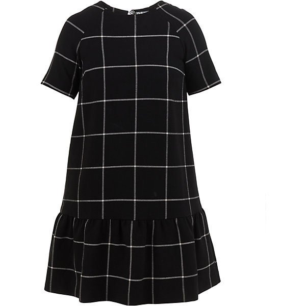 Платье Gulliver для девочкиОсенне-зимние платья и сарафаны<br>Характеристики товара:<br><br>• цвет: черный;<br>• состав: 27% вискоза 7% хлопок 63% полиэстер 3% эластан; <br>• подкладка: 50% вискоза, 50% полиэстер;<br>• сезон: демисезон;<br>• особенности: повседневное, в клетку;<br>• застежка: пуговицы сзади у горловины;<br>• с коротким рукавом;<br>• округлый горловой вырез;<br>• платье декорировано пайетками;<br>• коллекция: Каменные джунгли;<br>• страна бренда: Россия;<br>• страна изготовитель: Китай.<br><br>Повседневное платье в клетку для девочки. Черное платье с коротким рукавом, с оруглым горловым вырезом, застегивается сзади на пуговку. Платье на подкладке.<br><br>Платье Gulliver для девочки (Гулливер) можно купить в нашем интернет-магазине.<br><br>Ширина мм: 236<br>Глубина мм: 16<br>Высота мм: 184<br>Вес г: 177<br>Цвет: черный<br>Возраст от месяцев: 120<br>Возраст до месяцев: 132<br>Пол: Женский<br>Возраст: Детский<br>Размер: 146,164,152,158<br>SKU: 7077226