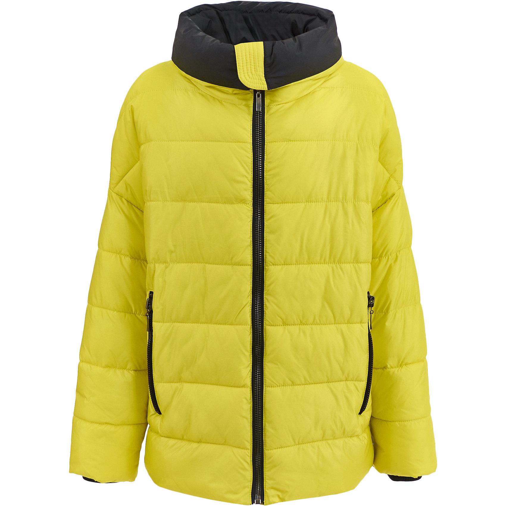 Куртка Gulliver для девочкиДемисезонные куртки<br>Куртка Gulliver для девочки<br>Хит сезона Осень/Зима 2017/2018 - черное платье в клетку! Оно выглядит смело, необычно, оригинально и поэтому имеет все шансы понравиться стильной девочке-подростку. Если вы хотите купить детское платье, присмотритесь к этой модели! Модное и комфортное, оно подчеркнет индивидуальность ребенка, сделав ее образ ярким и интересным.<br>Состав:<br>верх: 27% вискоза 7% хлопок 63% полиэстер 3% эластан; подкладка: 50% вискоза 50% полиэстер<br><br>Ширина мм: 356<br>Глубина мм: 10<br>Высота мм: 245<br>Вес г: 519<br>Цвет: желтый<br>Возраст от месяцев: 156<br>Возраст до месяцев: 168<br>Пол: Женский<br>Возраст: Детский<br>Размер: 164,146,152,158<br>SKU: 7077231
