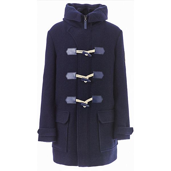 Пальто Gulliver для мальчикаВерхняя одежда<br>Характеристики товара:<br><br>• цвет: синий;<br>• состав: 50% шерсть, 50% полиэстер;<br>• подкладка: 100% полиэстер;<br>• без дополнительного утепления;<br>• сезон: демисезон;<br>• температурный режим: от +10 до -10С;<br>• особенности: стиль даффлкот;<br>• застежка: молния с дополнительной планкой на пуговицах-петлях;<br>• гладкая подкладка из полиэстера;<br>• капюшон не отстегивается;<br>• два накладных кармана;<br>• коллекция: Морской волк;<br>• страна бренда: Россия;<br>• страна изготовитель: Китай.<br><br>Демисезонное пальто для мальчика. Пальто-даффлкот с детства делает ребенка джентльменом. Оно выглядит элегантно, изысканно и не уступает куртке в функциональности. Модное пальто из сукна глубокого синего цвета - прекрасная возможность подчеркнуть индивидуальность ребенка, сделав его осенний гардероб стильным и выразительным.  <br><br>Пальто Gulliver (Гулливер) можно купить в нашем интернет-магазине.<br>Ширина мм: 356; Глубина мм: 10; Высота мм: 245; Вес г: 519; Цвет: синий; Возраст от месяцев: 120; Возраст до месяцев: 132; Пол: Мужской; Возраст: Детский; Размер: 146,164,152,158; SKU: 7077314;