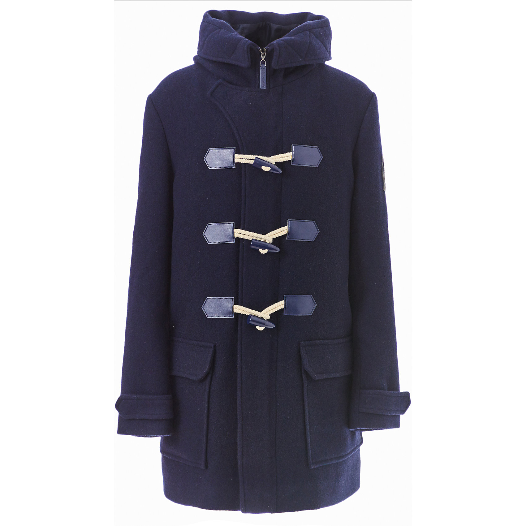 Пальто Gulliver для мальчикаВерхняя одежда<br>Пальто Gulliver для мальчика<br>Модную или комфортную? Красивую или практичную?... Если вы хотите купить куртку для мальчика, помните, что хорошая куртка должна сочетать в себе все необходимые требования к внешнему виду и функциональности! Именно такая, детская куртка от Gulliver, - отличный вариант для холодной погоды. Стильный дизайн: контрастная отделка, игра фактур, крупные функциональные детали - красная куртка для мальчика не позволит пройти мимо, не обратив на себя внимания! Удобная форма, комфортная длина, удачная конструкция модели, не препятствующая свободе движений, а также все необходимые элементы для защиты от ветра сделают куртку незаменимым атрибутом зимнего сезона.<br>Состав:<br>верх: 100% полиэстер;  подкладка: 100% полиэстер; утеплитель: иск.пух 100% полиэстер<br><br>Ширина мм: 356<br>Глубина мм: 10<br>Высота мм: 245<br>Вес г: 519<br>Цвет: синий<br>Возраст от месяцев: 156<br>Возраст до месяцев: 168<br>Пол: Мужской<br>Возраст: Детский<br>Размер: 164,146,152,158<br>SKU: 7077314