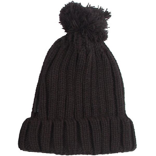 Шапка Gusti для мальчикаГоловные уборы<br>Характеристики товара:<br><br>• цвет: черный<br>• состав ткани: 100% полиэстер<br>• подкладка: флис <br>• сезон: зима<br>• температурный режим: от -30 до +5<br>• особенности модели: крупная вязка<br>• страна бренда: Канада<br>• страна изготовитель: Китай<br><br>Теплая шапка для мальчика поможет не замерзнуть даже в сильный мороз. Вязаная детская шапка отличается стильным дизайном. Стильная детская шапка сделана с учетом последних веяний в детской моде. <br><br>Шапку Gusti (Густи) для мальчика можно купить в нашем интернет-магазине.<br>Ширина мм: 89; Глубина мм: 117; Высота мм: 44; Вес г: 155; Цвет: черный; Возраст от месяцев: 48; Возраст до месяцев: 60; Пол: Мужской; Возраст: Детский; Размер: 52,58; SKU: 7077971;
