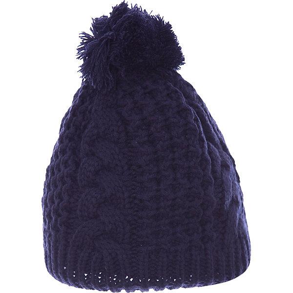 Шапка Gusti для девочкиГоловные уборы<br>Характеристики товара:<br><br>• цвет: синий<br>• состав ткани: 100% полиэстер<br>• подкладка: флис <br>• сезон: зима<br>• температурный режим: от -30 до +5<br>• особенности модели: крупная вязка<br>• страна бренда: Канада<br>• страна изготовитель: Китай<br><br>Теплая шапка для девочки поможет не замерзнуть даже в сильный мороз. Вязаная детская шапка отличается стильным дизайном. Стильная детская шапка сделана с учетом последних веяний в детской моде. <br><br>Шапку Gusti (Густи) для девочки можно купить в нашем интернет-магазине.<br>Ширина мм: 89; Глубина мм: 117; Высота мм: 44; Вес г: 155; Цвет: синий; Возраст от месяцев: 5; Возраст до месяцев: 6; Пол: Женский; Возраст: Детский; Размер: 44,58,52; SKU: 7077982;