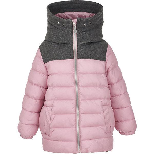 Куртка Gulliver для девочкиВерхняя одежда<br>Характеристики товара:<br><br>• цвет: розовый;<br>• состав: 100% нейлон;<br>• подкладка: 100% полиэстер;<br>• утеплитель: 100% полиэстер, искусственный пух;<br>• сезон: зима;<br>• температурный режим: от 0 до -20С;<br>• особенности: стеганая, пуховая;<br>• застежка: молния с защитой подбородка;<br>• высокий воротник-капюшон;<br>• капюшон не отстегивается;<br>• два прорезных кармана;<br>• коллекция: Филигрань;<br>• страна бренда: Россия;<br>• страна изготовитель: Китай.<br><br>Зимняя куртка на молнии для девочки. Интересный дизайн модели: модная комбинация фактур, свободная объемная форма делают куртку элегантной, интересной, заметно отличающейся от базовых решений. Если вы хотите сделать зимний гардероб ребенка не только практичным и функциональным, но и модным, стильным, современным, розовая куртка для девочки от Gulliver - именно то что нужно. <br><br>Куртку Gulliver (Гулливер) можно купить в нашем интернет-магазине.<br>Ширина мм: 356; Глубина мм: 10; Высота мм: 245; Вес г: 519; Цвет: розовый; Возраст от месяцев: 24; Возраст до месяцев: 36; Пол: Женский; Возраст: Детский; Размер: 98,116,110,104; SKU: 7078528;