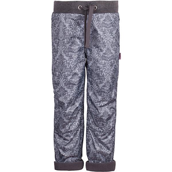 Брюки на флисе Gulliver для девочкиВерхняя одежда<br>Характеристики товара:<br><br>• цвет: серый;<br>• состав: 100% хлопок;<br>• подкладка: 100% полиэстер, флис;<br>• сезон: демисезон;<br>• температурный режим: от +10 до -10С;<br>• особенности: на флисе, с рисунком, непромокаемые;<br>• застежка: брюки на резинке со шнурком-завязкой;<br>• непромокаемая плащевая ткань;<br>• с отворотами;<br>• карманы;<br>• коллекция: Филигрань;<br>• страна бренда: Россия;<br>• страна изготовитель: Китай.<br><br>Утепленные брюки для девочки - изделие из разряда must have! Стильные плащевые брюки на флисе от Gulliver не только создадут комфорт и уют, но и украсят осенне-зимний гардероб ребенка. Модная форма, непромокаемая ткань с интересным рисунком, красивая посадка изделия на фигуре, продуманные детали подчеркнут актуальность и оригинальность любого комплекта с брюками из плащевки.<br><br>Брюки Gulliver (Гулливер) можно купить в нашем интернет-магазине.<br><br>Ширина мм: 215<br>Глубина мм: 88<br>Высота мм: 191<br>Вес г: 336<br>Цвет: серый<br>Возраст от месяцев: 48<br>Возраст до месяцев: 60<br>Пол: Женский<br>Возраст: Детский<br>Размер: 110,116,104,98<br>SKU: 7078548