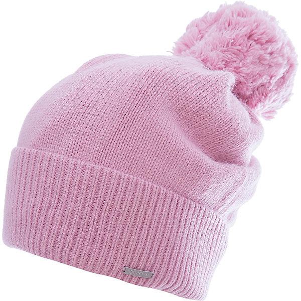Шапка Gulliver для девочкиГоловные уборы<br>Характеристики товара:<br><br>• цвет: розовый;<br>• состав: 40% вискоза 20% шерсть 20% нейлон 20% ангора; <br>• подкладка: 100% полиэстер, флис;<br>• сезон: демисезон, зима;<br>• температурный режим: от +10 до -15С;<br>• особенности: вязаная, с помпоном;<br>• сплошная флисовая подкладка;<br>• коллекция: Филигрань;<br>• страна бренда: Россия;<br>• страна изготовитель: Китай.<br><br>Вязаная шапка с помпоном для девочки. Шапка на флисовой подкладке. Шикарная шапка с помпоном - прекрасный вариант! Отличный состав и качество пряжи, мягкая флисовая подкладка исключают колкость изделия, гарантируя уют и комфорт.<br><br>Шапку Gulliver (Гулливер) можно купить в нашем интернет-магазине.<br>Ширина мм: 89; Глубина мм: 117; Высота мм: 44; Вес г: 155; Цвет: розовый; Возраст от месяцев: 24; Возраст до месяцев: 36; Пол: Женский; Возраст: Детский; Размер: 50,52; SKU: 7078566;