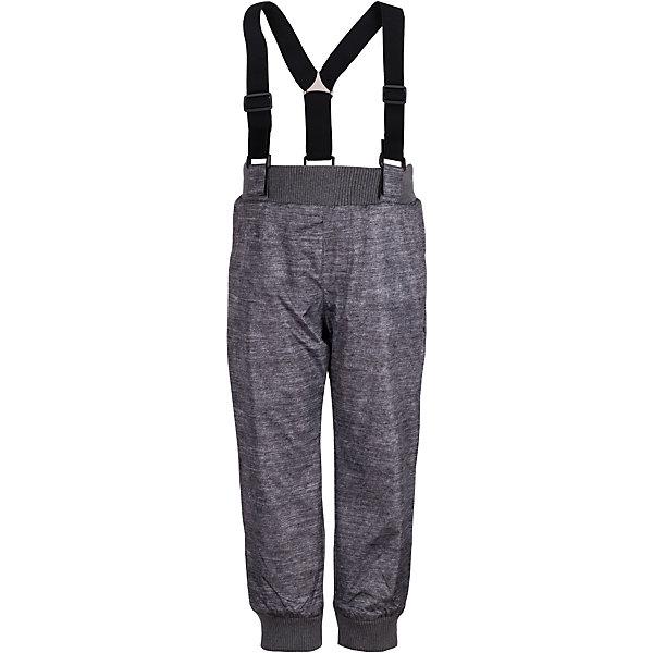 Брюки на флисе Gulliver для мальчикаВерхняя одежда<br>Характеристики товара:<br><br>• цвет: серый;<br>• состав: 100% полиэстер;<br>• подкладка: 100% полиэстер, флис;<br>• сезон: демисезон;<br>• температурный режим: от +10 до -10С;<br>• особенности: на флисе, непромокаемые;<br>• застежка: брюки на резинке;<br>• непромокаемая плащевая ткань;<br>• эластичные регулируемые подтяжки;<br>• карманы;<br>• коллекция: Воздушная регата;<br>• страна бренда: Россия;<br>• страна изготовитель: Китай.<br><br>Плащевые брюки на флисе! Брюки не промокают и сохраняют тепло, поэтому делают длительные осенние прогулки в любую погоду не только возможными, но и очень комфортными и запоминающимися. Ребенок может ходить по лужам и играть без всяких ограничений. Удачная конструкция, выверенные пропорции не создают ненужного объема, мешающего свободе движений. Лямки изделия дополнены удобными регуляторами длины, позволяющими настроить модель по росту ребенка.<br><br>Брюки Gulliver (Гулливер) можно купить в нашем интернет-магазине.<br><br>Ширина мм: 215<br>Глубина мм: 88<br>Высота мм: 191<br>Вес г: 336<br>Цвет: серый<br>Возраст от месяцев: 24<br>Возраст до месяцев: 36<br>Пол: Мужской<br>Возраст: Детский<br>Размер: 98,116,110,104<br>SKU: 7078633