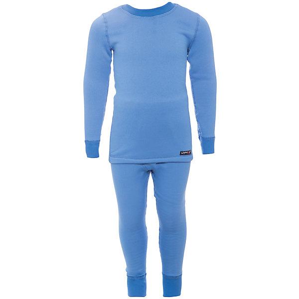 Комплект термобелья Lynxy для мальчикаФлис и термобелье<br>Характеристики товара:<br><br>• цвет: голубой<br>• комплектация: лонгслив и рейтузы<br>• состав ткани: 95 % хлопок, 5  % лайкра<br>• подкладка: нет<br>• сезон: зима<br>• температурный режим: от -30 до 0<br>• пояс: резинка<br>• длинные рукава<br>• страна бренда: Россия<br>• страна изготовитель: Россия<br><br>Такой детский комплект термобелья состоит из лонгслива и рейтуз. Такое термобелье можно надевать как нижний слой в морозы. Качественный материал комплекта термобелья для детей позволяет коже дышать и впитывает лишнюю влагу.<br><br>Комплект термобелья Lynxy (Линкси) для мальчика можно купить в нашем интернет-магазине.<br>Ширина мм: 219; Глубина мм: 11; Высота мм: 262; Вес г: 314; Цвет: голубой; Возраст от месяцев: 24; Возраст до месяцев: 36; Пол: Мужской; Возраст: Детский; Размер: 98,134,128,122,116,110,104; SKU: 7079939;