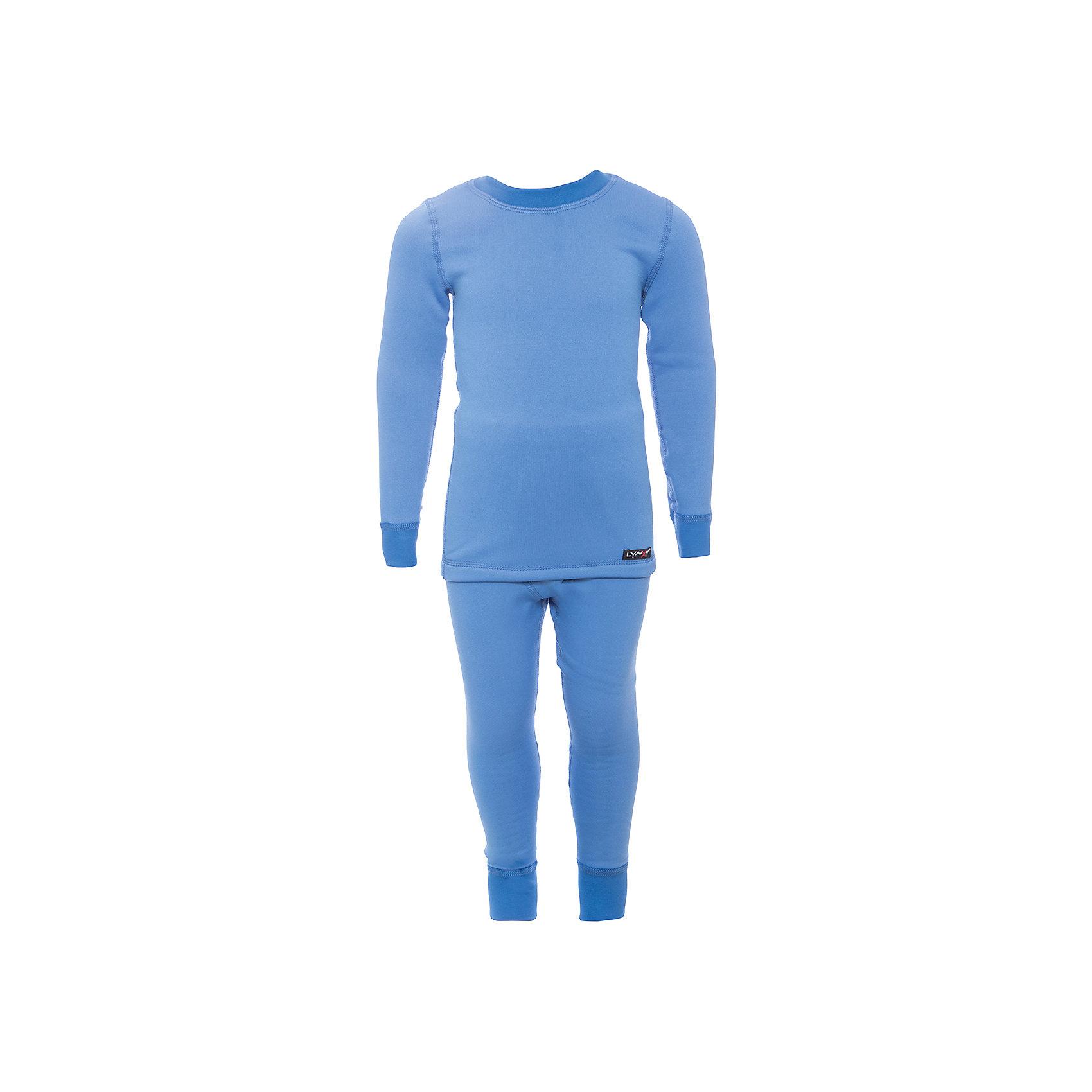 Комплект термобелья Lynxy для мальчикаФлис и термобелье<br>Характеристики товара:<br><br>• цвет: голубой<br>• комплектация: лонгслив и рейтузы<br>• состав ткани: 95 % хлопок, 5  % лайкра<br>• подкладка: нет<br>• сезон: зима<br>• температурный режим: от -30 до 0<br>• пояс: резинка<br>• длинные рукава<br>• страна бренда: Россия<br>• страна изготовитель: Россия<br><br>Такой детский комплект термобелья состоит из лонгслива и рейтуз. Такое термобелье можно надевать как нижний слой в морозы. Качественный материал комплекта термобелья для детей позволяет коже дышать и впитывает лишнюю влагу.<br><br>Комплект термобелья Lynxy (Линкси) для мальчика можно купить в нашем интернет-магазине.<br><br>Ширина мм: 219<br>Глубина мм: 11<br>Высота мм: 262<br>Вес г: 314<br>Цвет: голубой<br>Возраст от месяцев: 24<br>Возраст до месяцев: 36<br>Пол: Мужской<br>Возраст: Детский<br>Размер: 98,134,104,110,116,122,128<br>SKU: 7079939