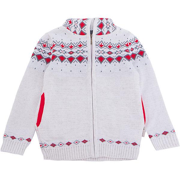 Жакет Gakkard для девочкиТолстовки, свитера, кардиганы<br>Характеристики товара:<br><br>• цвет: белый<br>• состав: 50% натуральная шерсть мериноса, 30% натуральный лен, 20% ПАН<br>• сезон: зима<br>• застежка: молния<br>• особенности модели: с капюшоном<br>• длинные рукава<br>• страна бренда: Россия<br>• страна производства: Россия<br><br>Вязаный жакет для ребенка дополнен капюшоном и карманами. Теплый жакет сделан из мягкой пряжи с добавлением натуральной шерсти мериноса. Детский жакет с длинным рукавом выглядит стильно благодаря вязаному рисунку в скандинавском стиле. <br><br>Жакет Gakkard (Жаккард) для девочки можно купить в нашем интернет-магазине.<br><br>Ширина мм: 190<br>Глубина мм: 74<br>Высота мм: 229<br>Вес г: 236<br>Цвет: бежевый<br>Возраст от месяцев: 6<br>Возраст до месяцев: 9<br>Пол: Женский<br>Возраст: Детский<br>Размер: 74,152,146,140,134,128,122,116,110,104,98,92,86,80<br>SKU: 7085304