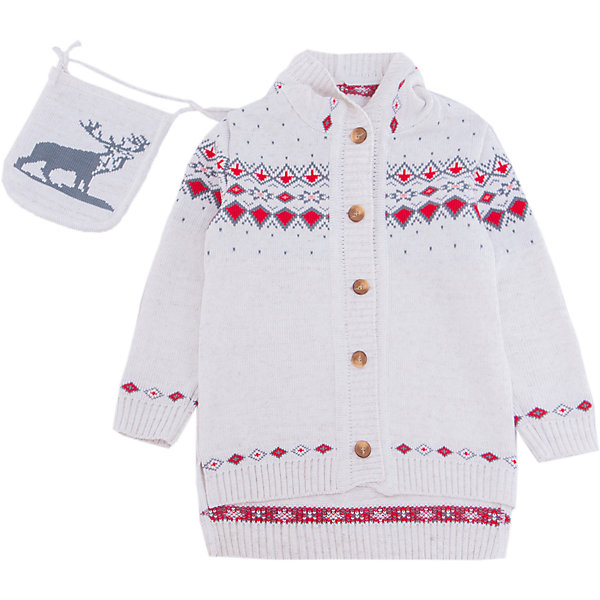 Кардиган Gakkard для девочкиТолстовки, свитера, кардиганы<br>Характеристики товара:<br><br>• цвет: белый<br>• состав: 50% натуральная шерсть мериноса, 30% натуральный лен, 20% ПАН<br>• сезон: зима<br>• застежка: пуговицы<br>• особенности модели: с капюшоном<br>• длинные рукава<br>• страна бренда: Россия<br>• страна производства: Россия<br><br>Детский кардиган сделан из мягкой пряжи с добавлением натуральной шерсти мериноса. Детский кардиган с длинным рукавом выглядит стильно благодаря вязаному рисунку в скандинавском стиле. Вязаный кардиган для ребенка дополнен удобным капюшоном и карманами. <br><br>Кардиган Gakkard (Жаккард) для девочки можно купить в нашем интернет-магазине.<br>Ширина мм: 190; Глубина мм: 74; Высота мм: 229; Вес г: 236; Цвет: бежевый; Возраст от месяцев: 120; Возраст до месяцев: 132; Пол: Женский; Возраст: Детский; Размер: 146,152,140,134,128,122,116,110,104,98,92,86,80; SKU: 7085319;