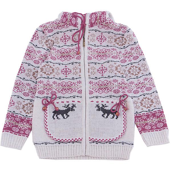 Жакет Gakkard для девочкиТолстовки, свитера, кардиганы<br>Характеристики товара:<br><br>• цвет: белый<br>• состав: 50% натуральная шерсть мериноса, 30% натуральный лен, 20% ПАН<br>• сезон: зима<br>• застежка: молния<br>• особенности модели: с капюшоном<br>• длинные рукава<br>• страна бренда: Россия<br>• страна производства: Россия<br><br>Симпатичный детский жакет с длинным рукавом декорирован вязаным рисунком в скандинавском стиле. Этот жакет для ребенка снабжен удобной молнией по всей длине. Теплый жакет сделан из качественного материала с добавлением натуральной шерсти мериноса. <br><br>Жакет Gakkard (Жаккард) для девочки можно купить в нашем интернет-магазине.<br>Ширина мм: 190; Глубина мм: 74; Высота мм: 229; Вес г: 236; Цвет: бежевый; Возраст от месяцев: 12; Возраст до месяцев: 18; Пол: Женский; Возраст: Детский; Размер: 86,122,116,110,104,98,92; SKU: 7085578;