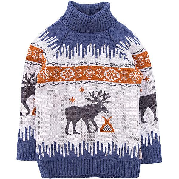 Свитер GakkardТолстовки, свитера, кардиганы<br>Характеристики товара:<br><br>• цвет: синий<br>• состав: 50% натуральная шерсть мериноса, 30% натуральный лен, 20% ПАН<br>• сезон: зима<br>• застежка: нет<br>• особенности модели: высокий ворот<br>• длинные рукава<br>• страна бренда: Россия<br>• страна производства: Россия<br><br>Обеспечить ребенку комфорт и тепло в прохладную погоду поможет этот детский свитер. Теплый свитер для ребенка декорирован оригинальным вязаным рисунком. Теплый свитер сделан из качественного материала с добавлением натуральной шерсти мериноса. <br><br>Свитер Gakkard (Жаккард) можно купить в нашем интернет-магазине.<br><br>Ширина мм: 190<br>Глубина мм: 74<br>Высота мм: 229<br>Вес г: 236<br>Цвет: бежевый<br>Возраст от месяцев: 120<br>Возраст до месяцев: 132<br>Пол: Унисекс<br>Возраст: Детский<br>Размер: 146,98,152,140,134,128,110,104,122,116<br>SKU: 7085699