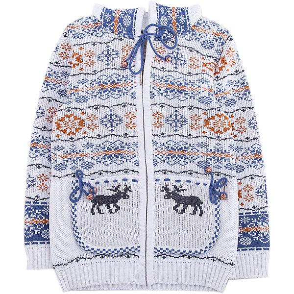 Жакет GakkardТолстовки, свитера, кардиганы<br>Характеристики товара:<br><br>• цвет: белый<br>• состав: 50% натуральная шерсть мериноса, 30% натуральный лен, 20% ПАН<br>• сезон: зима<br>• застежка: молния<br>• особенности модели: с капюшоном<br>• длинные рукава<br>• страна бренда: Россия<br>• страна производства: Россия<br><br>Симпатичный детский жакет с длинным рукавом декорирован вязаным рисунком в скандинавском стиле. Этот жакет для ребенка снабжен удобной молнией по всей длине. Теплый жакет сделан из качественного материала с добавлением натуральной шерсти мериноса. <br><br>Жакет Gakkard (Жаккард) можно купить в нашем интернет-магазине.<br><br>Ширина мм: 190<br>Глубина мм: 74<br>Высота мм: 229<br>Вес г: 236<br>Цвет: бежевый<br>Возраст от месяцев: 24<br>Возраст до месяцев: 36<br>Пол: Унисекс<br>Возраст: Детский<br>Размер: 122,116,110,92,86,98,104<br>SKU: 7085797