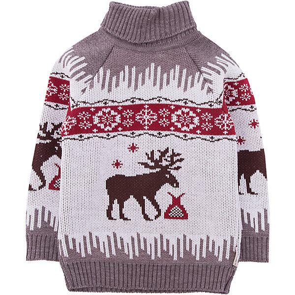 Свитер GakkardТолстовки, свитера, кардиганы<br>Характеристики товара:<br><br>• цвет: белый<br>• состав: 50% натуральная шерсть, 30% натуральный лен, 20% ПАН<br>• сезон: зима<br>• застежка: нет<br>• особенности модели: вязаный рисунок<br>• длинные рукава<br>• страна бренда: Россия<br>• страна производства: Россия<br><br> Обеспечить ребенку комфорт и тепло в прохладную погоду поможет этот детский свитер. Теплый свитер сделан из качественного материала с добавлением натуральной шерсти мериноса. Вязаный свитер для ребенка декорирован оригинальным рисунком.<br><br>Свитер Gakkard (Жаккард) можно купить в нашем интернет-магазине.<br><br>Ширина мм: 190<br>Глубина мм: 74<br>Высота мм: 229<br>Вес г: 236<br>Цвет: бежевый<br>Возраст от месяцев: 120<br>Возраст до месяцев: 132<br>Пол: Унисекс<br>Возраст: Детский<br>Размер: 146,98,152,140,134,128,122,116,110,104<br>SKU: 7085918