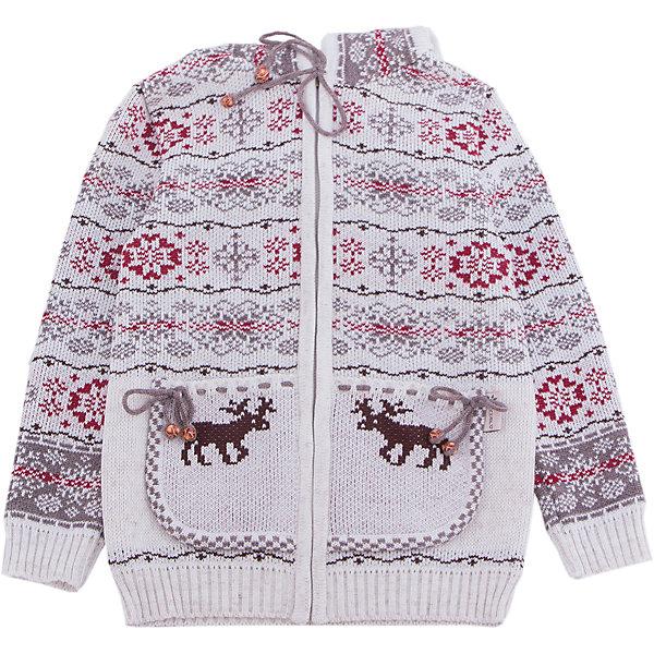 Жакет GakkardТолстовки, свитера, кардиганы<br>Характеристики товара:<br><br>• цвет: белый<br>• состав: 50% натуральная шерсть мериноса, 30% натуральный лен, 20% ПАН<br>• сезон: зима<br>• застежка: молния<br>• особенности модели: с капюшоном<br>• длинные рукава<br>• страна бренда: Россия<br>• страна производства: Россия<br><br>Симпатичный детский жакет с длинным рукавом декорирован вязаным рисунком в скандинавском стиле. Этот жакет для ребенка снабжен удобной молнией по всей длине. Теплый жакет сделан из качественного материала с добавлением натуральной шерсти мериноса. <br><br>Жакет Gakkard (Жаккард) можно купить в нашем интернет-магазине.<br><br>Ширина мм: 190<br>Глубина мм: 74<br>Высота мм: 229<br>Вес г: 236<br>Цвет: бежевый<br>Возраст от месяцев: 12<br>Возраст до месяцев: 18<br>Пол: Унисекс<br>Возраст: Детский<br>Размер: 86,122,116,110,104,98,92<br>SKU: 7086016