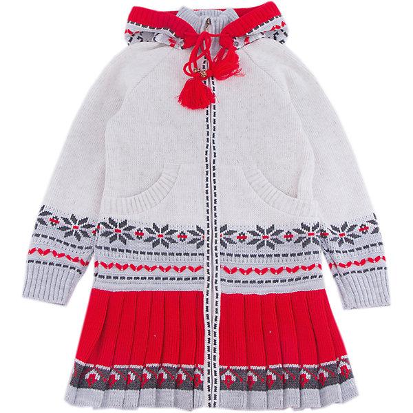 Кардиган Gakkard для девочкиСвитера и кардиганы<br>Характеристики товара:<br><br>• цвет: белый<br>• состав: 30% натуральная шерсть мериноса, 70% ПАН<br>• сезон: зима<br>• застежка: молния<br>• особенности модели: с капюшоном<br>• длинные рукава<br>• страна бренда: Россия<br>• страна производства: Россия<br><br>Детский кардиган сделан из мягкой пряжи с добавлением натуральной шерсти мериноса. Детский кардиган с длинным рукавом выглядит стильно благодаря вязаному рисунку в скандинавском стиле. Вязаный кардиган для ребенка дополнен удобным капюшоном и карманами. <br><br>Кардиган Gakkard (Жаккард) для девочки можно купить в нашем интернет-магазине.<br>Ширина мм: 190; Глубина мм: 74; Высота мм: 229; Вес г: 236; Цвет: бежевый; Возраст от месяцев: 12; Возраст до месяцев: 15; Пол: Женский; Возраст: Детский; Размер: 80,128,122,116,110,104,98,92,86; SKU: 7086104;