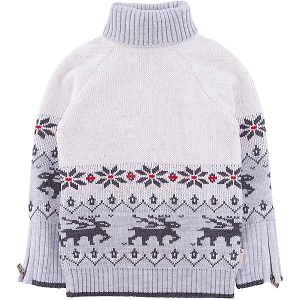 Свитер Gakkard для мальчикаТолстовки, свитера, кардиганы<br>Характеристики товара:<br><br>• цвет: белый<br>• состав: 30% натуральная шерсть мериноса, 70% ПАН<br>• сезон: зима<br>• застежка: нет<br>• особенности модели: высокий ворот<br>• длинные рукава<br>• страна бренда: Россия<br>• страна производства: Россия<br><br>Теплый свитер для ребенка декорирован оригинальным вязаным рисунком. Обеспечить ребенку комфорт и тепло в прохладную погоду поможет этот детский свитер. Теплый свитер сделан из качественного материала с добавлением натуральной шерсти мериноса. <br><br>Свитер Gakkard (Жаккард) для девочки можно купить в нашем интернет-магазине.<br><br>Ширина мм: 190<br>Глубина мм: 74<br>Высота мм: 229<br>Вес г: 236<br>Цвет: бежевый<br>Возраст от месяцев: 96<br>Возраст до месяцев: 108<br>Пол: Мужской<br>Возраст: Детский<br>Размер: 134,140,98,104,110,116,122,128<br>SKU: 7086123