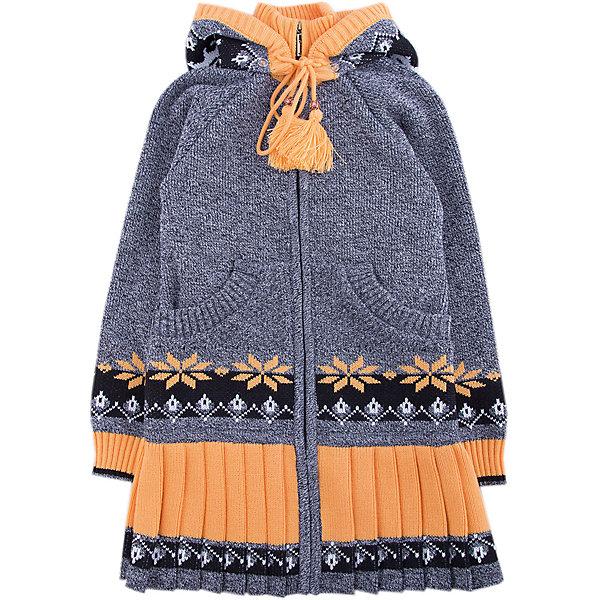 Кардиган Gakkard для девочкиТолстовки, свитера, кардиганы<br>Характеристики товара:<br><br>• цвет: серый<br>• состав: 30% натуральная шерсть мериноса, 70% ПАН<br>• сезон: зима<br>• застежка: молния<br>• особенности модели: с капюшоном<br>• длинные рукава<br>• страна бренда: Россия<br>• страна производства: Россия<br><br>Детский кардиган сделан из мягкой пряжи с добавлением натуральной шерсти мериноса. Детский кардиган с длинным рукавом выглядит стильно благодаря вязаному узору. Вязаный кардиган для ребенка дополнен удобным капюшоном и карманами. <br><br>Кардиган Gakkard (Жаккард) для девочки можно купить в нашем интернет-магазине.<br>Ширина мм: 190; Глубина мм: 74; Высота мм: 229; Вес г: 236; Цвет: серый; Возраст от месяцев: 60; Возраст до месяцев: 72; Пол: Женский; Возраст: Детский; Размер: 116,140,98,104,110,122,128,134; SKU: 7086201;
