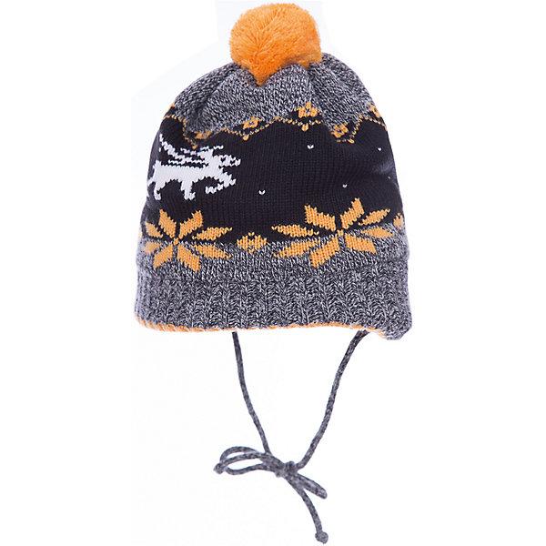 Шапка Gakkard для мальчикаГоловные уборы<br>Характеристики товара:<br><br>• цвет: серый<br>• состав: 50% шерсть, 50% пан<br>• сезон: зима<br>• температурный режим: от -15 до +5 <br>• застежка: завязки<br>• страна бренда: Россия<br>• страна производства: Россия<br><br>Вязаная шапка для ребенка отличается стильным дизайном и удобной формой. Серая практичная детская шапка выглядит оригинально благодаря вязаному рисунку в скандинавском стиле. Теплая шапка сделана из мягкой пряжи с добавлением натуральной шерсти мериноса и льна. <br><br>Шапку Gakkard (Жаккард) для мальчика можно купить в нашем интернет-магазине.<br>Ширина мм: 89; Глубина мм: 117; Высота мм: 44; Вес г: 155; Цвет: серый; Возраст от месяцев: 12; Возраст до месяцев: 18; Пол: Мужской; Возраст: Детский; Размер: 48,40,50,46,44,42; SKU: 7086251;
