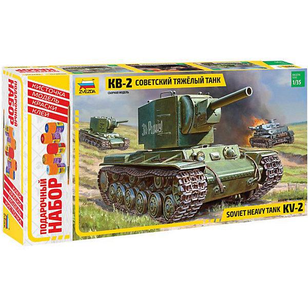 Сборная модель Звезда Танк КВ-2, 1:35 (подарочный набор)
