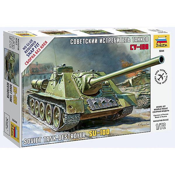 Сборная модель Звезда Советский истребитель танков СУ-100, 1:72