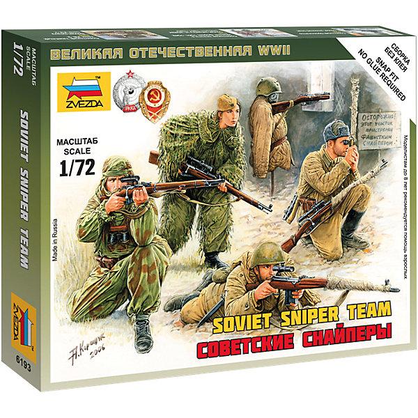 Сборная модель Звезда Советские снайперы, 1: 72 (сборка без клея)Военная техника и панорама<br>Модель сборная Советские снайперы<br><br>Ширина мм: 145<br>Глубина мм: 120<br>Высота мм: 20<br>Вес г: 50<br>Возраст от месяцев: 36<br>Возраст до месяцев: 180<br>Пол: Мужской<br>Возраст: Детский<br>SKU: 7086482