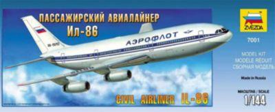 Сборная модель Звезда Авиалайнер Ил-86 , 1:144