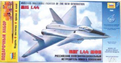 Сборная модель Звезда Самолет Миг-1.44 , 1:72 (подарочный набор)