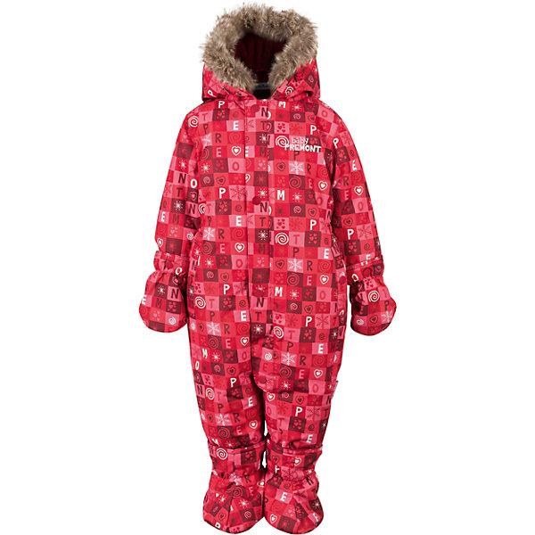 Комбинезон Premont для девочкиВерхняя одежда<br>Характеристики товара:<br><br>• цвет: красный<br>• состав ткани: Taslan<br>• подкладка: Polar fleece, Taffeta<br>• утеплитель: Tech-polyfill<br>• сезон: зима<br>• мембранное покрытие<br>• температурный режим: от -30 до +5<br>• водонепроницаемость: 5000 мм <br>• паропроницаемость: 5000 г/м2<br>• плотность утеплителя: 280 г/м2<br>• капюшон: несъемный<br>• искусственный мех на капюшоне отстегивается<br>• застежка: молния<br>• страна бренда: Канада<br>• страна изготовитель: Китай<br><br>Мембранный детский комбинезон легко надевается благодаря удлиненной молнии. Мягкая подкладка комбинезона для детей делает его очень комфортным. Зимний комбинезон для ребенка снабжен мягкими манжетами. Детский теплый комбинезон дополнен удобным капюшоном, планкой от ветра и карманами на липучках. <br><br>Комбинезон для девочки Premont (Премонт) можно купить в нашем интернет-магазине.<br>Ширина мм: 356; Глубина мм: 10; Высота мм: 245; Вес г: 519; Цвет: красный; Возраст от месяцев: 3; Возраст до месяцев: 6; Пол: Женский; Возраст: Детский; Размер: 68,98,92,86,80,74; SKU: 7088075;