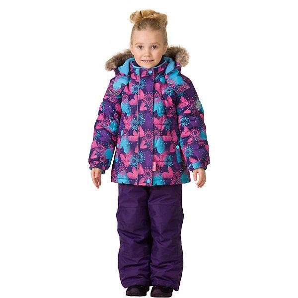 Комплект: куртка и брюки Premont для девочкиВерхняя одежда<br>Характеристики товара:<br><br>• цвет: фиолетовый<br>• комплектация: куртка и брюки<br>• состав ткани: Taslan<br>• подкладка: Polar fleece, Taffeta<br>• утеплитель: Tech-polyfill<br>• сезон: зима<br>• мембранное покрытие<br>• температурный режим: от -30 до +5<br>• водонепроницаемость: 5000 мм <br>• паропроницаемость: 5000 г/м2<br>• плотность утеплителя: куртка - 280 г/м2, брюки - 180 г/м2<br>• капюшон: съемный<br>• искусственный мех на капюшоне отстегивается<br>• застежка: молния<br>• страна бренда: Канада<br>• страна изготовитель: Китай<br><br>Теплый зимний детский комплект сделан с применением мембранной технологии. Мягкая подкладка комплекта для детей делает его теплым и комфортным. Зимний комплект для ребенка - это куртка с капюшоном и брюки. Детский теплый комплект дополнен светоотражающими элементами, лямками, планкой от ветра и карманами на липучках. <br><br>Комплект: куртка и брюки для девочки Premont (Премонт) можно купить в нашем интернет-магазине.<br>Ширина мм: 356; Глубина мм: 10; Высота мм: 245; Вес г: 519; Цвет: фиолетовый; Возраст от месяцев: 156; Возраст до месяцев: 168; Пол: Женский; Возраст: Детский; Размер: 164,92,98,100,104,110,116,120,122,128,140,152; SKU: 7088112;