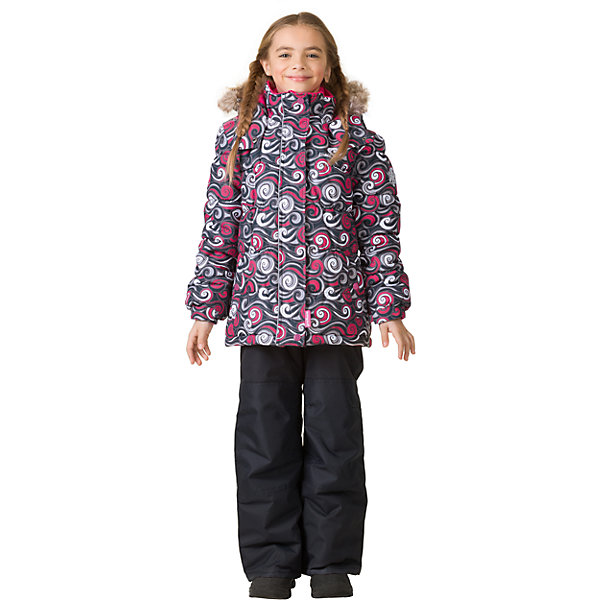 Комплект: куртка и брюки Premont для девочкиВерхняя одежда<br>Характеристики товара:<br><br>• цвет: серый<br>• комплектация: куртка и брюки<br>• состав ткани: Taslan<br>• подкладка: Polar fleece, Taffeta<br>• утеплитель: Tech-polyfill<br>• сезон: зима<br>• мембранное покрытие<br>• температурный режим: от -30 до +5<br>• водонепроницаемость: 5000 мм <br>• паропроницаемость: 5000 г/м2<br>• плотность утеплителя: куртка - 280 г/м2, брюки - 180 г/м2<br>• капюшон: съемный<br>• искусственный мех на капюшоне отстегивается<br>• застежка: молния<br>• страна бренда: Канада<br>• страна изготовитель: Китай<br><br>Практичный и модный комплект для ребенка состоит из куртки и брюк. Детский теплый комплект дополнен эластичными манжетами, светоотражающими элементами, лямками, планкой от ветра и карманами на липучках. Теплый зимний детский комплект имеет мембранное покрытие.<br><br>Комплект: куртка и брюки для девочки Premont (Премонт) можно купить в нашем интернет-магазине.<br><br>Ширина мм: 356<br>Глубина мм: 10<br>Высота мм: 245<br>Вес г: 519<br>Цвет: серый<br>Возраст от месяцев: 72<br>Возраст до месяцев: 84<br>Пол: Женский<br>Возраст: Детский<br>Размер: 122,100,98,92,120,116,110,104,164,152,140,128<br>SKU: 7088203