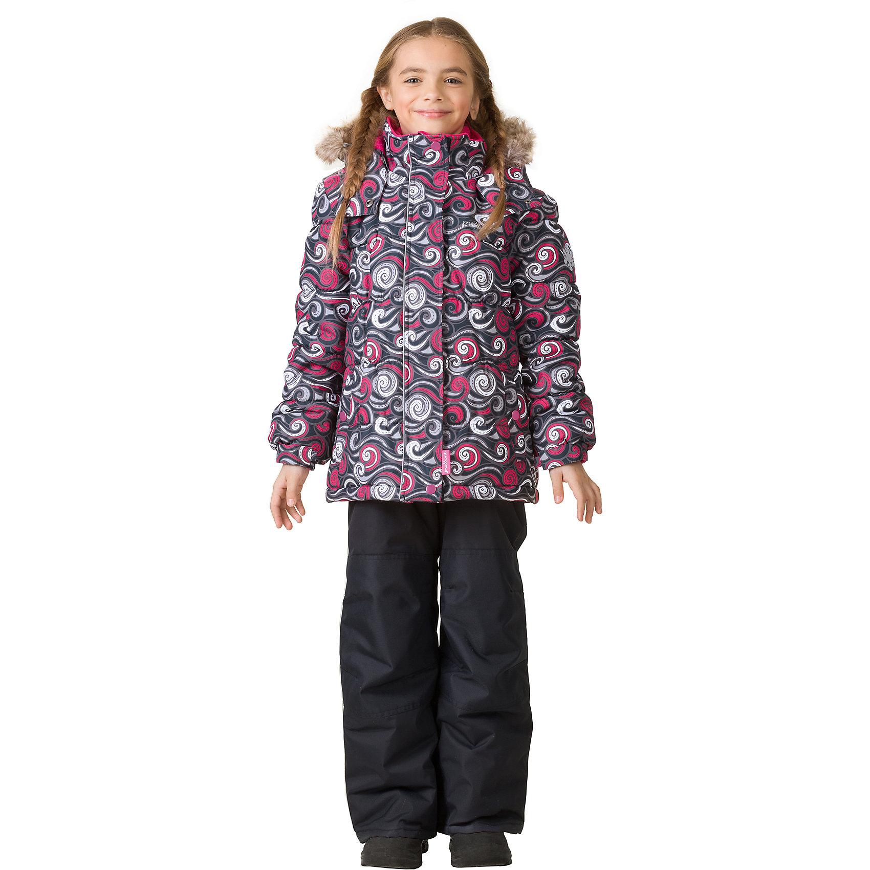 Комплект: куртка и брюки Premont для девочкиВерхняя одежда<br>Характеристики товара:<br><br>• цвет: серый<br>• комплектация: куртка и брюки<br>• состав ткани: Taslan<br>• подкладка: Polar fleece, Taffeta<br>• утеплитель: Tech-polyfill<br>• сезон: зима<br>• мембранное покрытие<br>• температурный режим: от -30 до +5<br>• водонепроницаемость: 5000 мм <br>• паропроницаемость: 5000 г/м2<br>• плотность утеплителя: куртка - 280 г/м2, брюки - 180 г/м2<br>• капюшон: съемный<br>• искусственный мех на капюшоне отстегивается<br>• застежка: молния<br>• страна бренда: Канада<br>• страна изготовитель: Китай<br><br>Практичный и модный комплект для ребенка состоит из куртки и брюк. Детский теплый комплект дополнен эластичными манжетами, светоотражающими элементами, лямками, планкой от ветра и карманами на липучках. Теплый зимний детский комплект имеет мембранное покрытие.<br><br>Комплект: куртка и брюки для девочки Premont (Премонт) можно купить в нашем интернет-магазине.<br><br>Ширина мм: 356<br>Глубина мм: 10<br>Высота мм: 245<br>Вес г: 519<br>Цвет: серый<br>Возраст от месяцев: 18<br>Возраст до месяцев: 24<br>Пол: Женский<br>Возраст: Детский<br>Размер: 92,164,152,140,128,122,120,116,110,104,100,98<br>SKU: 7088203