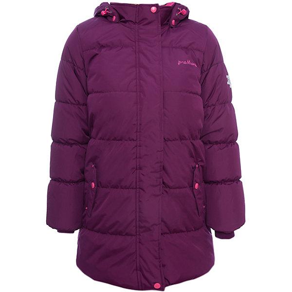 Пальто Premont для девочкиВерхняя одежда<br>Характеристики товара:<br><br>• цвет: фиолетовый<br>• состав ткани: Taslan<br>• подкладка: Polar fleece, Taffeta<br>• утеплитель: Tech-polyfill<br>• сезон: зима<br>• мембранное покрытие<br>• температурный режим: от -30 до +5<br>• водонепроницаемость: 5000 мм <br>• паропроницаемость: 5000 г/м2<br>• плотность утеплителя: 280 г/м2<br>• капюшон: съемный<br>• искусственный мех на капюшоне отстегивается<br>• застежка: молния<br>• страна бренда: Канада<br>• страна изготовитель: Китай<br><br>Удлиненное мембранное пальто для девочки выглядит стильно и комфортно садится по фигуре. Обеспечить ребенку тепло и удобство в морозы поможет это детское пальто. Зимнее пальто дополнено эластичными манжетами, светоотражающими элементами, лямками, планкой от ветра и карманами на липучках. <br><br>Пальто для девочки Premont (Премонт) можно купить в нашем интернет-магазине.<br><br>Ширина мм: 356<br>Глубина мм: 10<br>Высота мм: 245<br>Вес г: 519<br>Цвет: фиолетовый<br>Возраст от месяцев: 84<br>Возраст до месяцев: 96<br>Пол: Женский<br>Возраст: Детский<br>Размер: 128,122,116,110,164,158,152,146,140,134<br>SKU: 7088276
