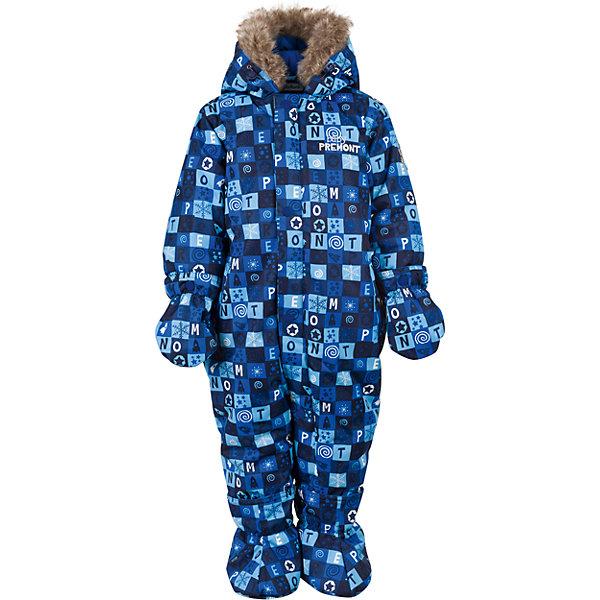Комбинезон Premont для мальчикаВерхняя одежда<br>Характеристики товара:<br><br>• цвет: синий<br>• состав ткани: Taslan<br>• подкладка: Polar fleece, Taffeta<br>• утеплитель: Tech-polyfill<br>• сезон: зима<br>• мембранное покрытие<br>• температурный режим: от -30 до +5<br>• водонепроницаемость: 5000 мм <br>• паропроницаемость: 5000 г/м2<br>• плотность утеплителя: 280 г/м2<br>• капюшон: несъемный<br>• искусственный мех на капюшоне отстегивается<br>• застежка: молния<br>• страна бренда: Канада<br>• страна изготовитель: Китай<br><br>Этот мембранный детский комбинезон легко надевается благодаря удлиненной молнии. Мягкая подкладка комбинезона для детей делает его очень комфортным. Зимний комбинезон для ребенка снабжен мягкими манжетами. Детский теплый комбинезон дополнен удобным капюшоном, планкой от ветра и карманами на липучках. <br><br>Комбинезон для мальчика Premont (Премонт) можно купить в нашем интернет-магазине.<br><br>Ширина мм: 356<br>Глубина мм: 10<br>Высота мм: 245<br>Вес г: 519<br>Цвет: синий<br>Возраст от месяцев: 3<br>Возраст до месяцев: 6<br>Пол: Мужской<br>Возраст: Детский<br>Размер: 68,98,92,86,80,74<br>SKU: 7088313