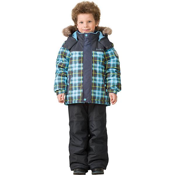Комплект: куртка и брюки Premont для мальчикаВерхняя одежда<br>Характеристики товара:<br><br>• цвет: голубой<br>• комплектация: куртка и брюки<br>• состав ткани: Taslan<br>• подкладка: Polar fleece, Taffeta<br>• утеплитель: Tech-polyfill<br>• сезон: зима<br>• мембранное покрытие<br>• температурный режим: от -30 до +5<br>• водонепроницаемость: 5000 мм <br>• паропроницаемость: 5000 г/м2<br>• плотность утеплителя: куртка - 280 г/м2, брюки - 180 г/м2<br>• капюшон: съемный<br>• искусственный мех на капюшоне отстегивается<br>• застежка: молния<br>• страна бренда: Канада<br>• страна изготовитель: Китай<br><br>Этот зимний комплект для ребенка - это куртка с капюшоном и брюки. Детский теплый комплект дополнен светоотражающими элементами, лямками, планкой от ветра и карманами на липучках. Теплый зимний детский комплект сделан с применением мембранной технологии. Мягкая подкладка комплекта для детей делает его теплым и комфортным. <br><br>Комплект: куртка и брюки для мальчика Premont (Премонт) можно купить в нашем интернет-магазине.<br>Ширина мм: 356; Глубина мм: 10; Высота мм: 245; Вес г: 519; Цвет: синий; Возраст от месяцев: 156; Возраст до месяцев: 168; Пол: Мужской; Возраст: Детский; Размер: 164,92,98,100,104,110,116,120,122,128,140,152; SKU: 7088343;