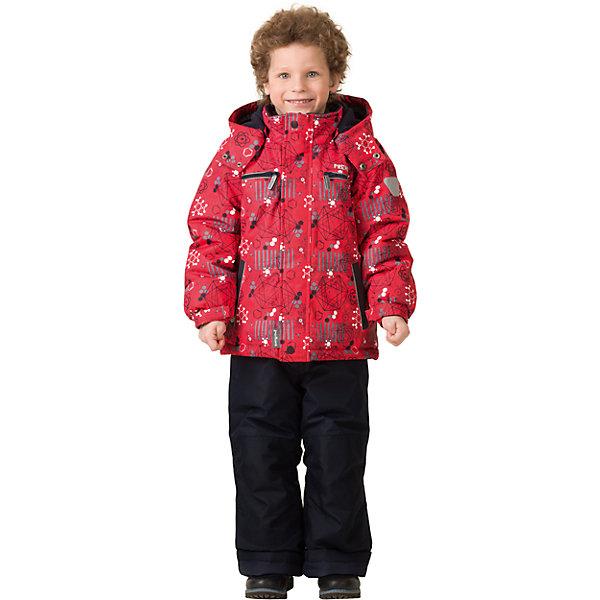 Комплект: куртка и брюки Premont для мальчикаВерхняя одежда<br>Характеристики товара:<br><br>• цвет: красный<br>• комплектация: куртка и брюки<br>• состав ткани: Taslan<br>• подкладка: Polar fleece, Taffeta<br>• утеплитель: Tech-polyfill<br>• сезон: зима<br>• мембранное покрытие<br>• температурный режим: от -30 до +5<br>• водонепроницаемость: 5000 мм <br>• паропроницаемость: 5000 г/м2<br>• плотность утеплителя: куртка - 280 г/м2, брюки - 180 г/м2<br>• капюшон: съемный,  без меха<br>• застежка: молния<br>• страна бренда: Канада<br>• страна изготовитель: Китай<br><br>Стильный зимний комплект позволяет ребенку не замерзнуть даже в сильный мороз, потому что теплый комплект для детей сделан с применением мембранной технологии. Зимний комплект для ребенка обеспечивает удобство при долгом нахождении ребенка на улице. Он создает и поддерживает комфортный микроклимат.<br><br>Комплект: куртка и брюки для мальчика Premont (Премонт) можно купить в нашем интернет-магазине.<br>Ширина мм: 356; Глубина мм: 10; Высота мм: 245; Вес г: 519; Цвет: красный; Возраст от месяцев: 18; Возраст до месяцев: 24; Пол: Мужской; Возраст: Детский; Размер: 92,98,100,104,110,116,122,128,140,152,164; SKU: 7088397;