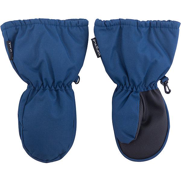 Варежки Premont для мальчикаПерчатки, варежки<br>Характеристики товара:<br><br>• цвет: синий<br>• состав ткани: Taslan<br>• подкладка:  Polar fleece<br>• утеплитель: Tech-polyfill<br>• сезон: зима<br>• мембранное покрытие<br>• температурный режим: от -30 до +5<br>• водонепроницаемость: 5000 мм <br>• паропроницаемость: 5000 г/м2<br>• плотность утеплителя: 120 г/м2<br>• крючок  для пристегивания к комбинезону<br>• усиление на ладони от истирания<br>• страна бренда: Канада<br>• страна изготовитель: Китай<br><br>Синие детские варежки для мальчика сделаны с применением инновационной мембранной технологии. Зимние варежки на ладонях дополнены износостойким покрытием. Мембранные детские варежки легко надеваются и снимаются.<br><br>Варежки для мальчика Premont (Премонт) можно купить в нашем интернет-магазине.<br><br>Ширина мм: 162<br>Глубина мм: 171<br>Высота мм: 55<br>Вес г: 119<br>Цвет: синий<br>Возраст от месяцев: 12<br>Возраст до месяцев: 24<br>Пол: Мужской<br>Возраст: Детский<br>Размер: 5,9,7/8,6/7<br>SKU: 7088473