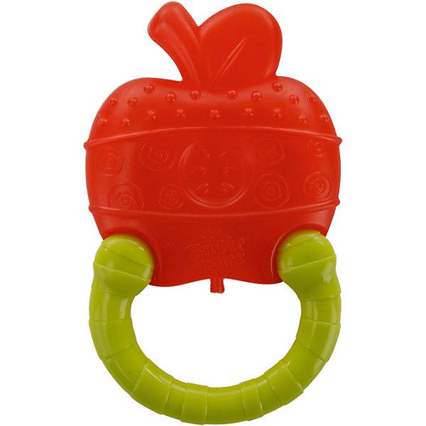 Мягкий прорезыватель для зубок  Bright Starts «Колечко», ЯблокоПустышки<br>Характеристики товара:<br><br>• возраст: от 3 мес.;<br>• материал: силикон, пластик;<br>• можно замораживать;<br>• снимает болезненный зуд десен;<br>• удобно держать в детской ручке;<br>• различные текстуры для развития тактильных ощущений у малыша;<br>• размеры товара: 9х2х12 см;<br>• размеры коробки: 12 х2х 19 см.<br><br>Прорезыватель  не только поможет прорезаться зубкам, но и разовьет зрение малыша за счет высокой контрастности!<br>Материал не боится ни воды, ни низких температур, его можно замораживать в холодильнике для уменьшения болевых ощущений при прорезывании зубов у малышей. <br><br>Мягкий прорезыватель для зубок Bright Starts  «Колечко», Яблоко можно купить в нашем интернет-магазине.<br><br>Ширина мм: 9999<br>Глубина мм: 9999<br>Высота мм: 9999<br>Вес г: 9999<br>Возраст от месяцев: 3<br>Возраст до месяцев: 2147483647<br>Пол: Унисекс<br>Возраст: Детский<br>SKU: 7089685