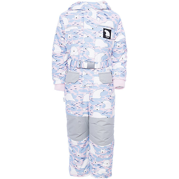 Комбинезон BOOM by Orby для девочкиВерхняя одежда<br>Характеристики товара:<br><br>• цвет: белый<br>• состав ткани: таффета<br>• подкладка: флис, полиэстер пуходержащий<br>• утеплитель: FiberSoft<br>• сезон: зима<br>• мембранное покрытие<br>• температурный режим: от 0 до -30С<br>• водонепроницаемость: 3000 мм <br>• паропроницаемость: 3000 г/м2<br>• плотность утеплителя: 400 г/м2<br>• капюшон: без меха<br>• застежка: молния<br>• штрипки<br>• страна бренда: Россия<br>• страна изготовитель: Россия<br><br>Зимний комбинезон для ребенка поможет обеспечить необходимый уровень утепления. Детский теплый комбинезон дополнен удобным капюшоном, планкой от ветра и карманами. Мембранная ткань верха детского зимнего комбинезона защищена от промокания и ветра. Мембранный комбинезон для девочки легко чистится. <br><br>Комбинезон для девочки BOOM by Orby (Бум бай Орби) можно купить в нашем интернет-магазине.<br>Ширина мм: 356; Глубина мм: 10; Высота мм: 245; Вес г: 519; Цвет: серый; Возраст от месяцев: 12; Возраст до месяцев: 15; Пол: Женский; Возраст: Детский; Размер: 80,128,122,116,110,104,98,92,86; SKU: 7090045;