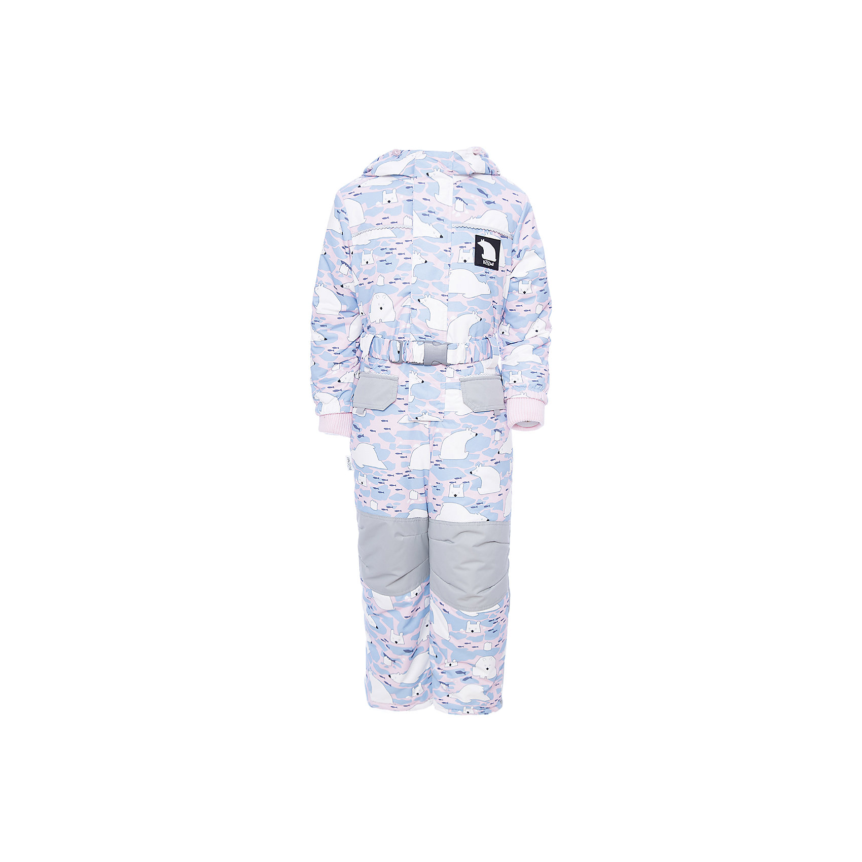 Комбинезон BOOM by Orby для девочкиВерхняя одежда<br>Характеристики товара:<br><br>• цвет: белый<br>• состав ткани: таффета<br>• подкладка: флис, полиэстер пуходержащий<br>• утеплитель: FiberSoft<br>• сезон: зима<br>• мембранное покрытие<br>• температурный режим: от 0 до -30С<br>• водонепроницаемость: 3000 мм <br>• паропроницаемость: 3000 г/м2<br>• плотность утеплителя: 400 г/м2<br>• капюшон: без меха<br>• застежка: молния<br>• штрипки<br>• страна бренда: Россия<br>• страна изготовитель: Россия<br><br>Зимний комбинезон для ребенка поможет обеспечить необходимый уровень утепления. Детский теплый комбинезон дополнен удобным капюшоном, планкой от ветра и карманами. Мембранная ткань верха детского зимнего комбинезона защищена от промокания и ветра. Мембранный комбинезон для девочки легко чистится. <br><br>Комбинезон для девочки BOOM by Orby (Бум бай Орби) можно купить в нашем интернет-магазине.<br><br>Ширина мм: 356<br>Глубина мм: 10<br>Высота мм: 245<br>Вес г: 519<br>Цвет: серый<br>Возраст от месяцев: 36<br>Возраст до месяцев: 48<br>Пол: Женский<br>Возраст: Детский<br>Размер: 104,110,116,122,128,80,86,92,98<br>SKU: 7090045