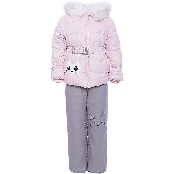 Комплект: куртка и полукомбинезон BOOM by Orby для девочкиВерхняя одежда<br>Характеристики товара:<br><br>• цвет: розовый<br>• комплектация: куртка, полукомбинезон <br>• состав ткани: болонь pu milky<br>• подкладка: хлопок, флис, полиэстер пуходержащий<br>• утеплитель: эко синтепон<br>• сезон: зима<br>• температурный режим: от 0 до -30С<br>• плотность утеплителя: куртка - 400 г/м2, полукомбинезон - 200 г/м2<br>• капюшон: с мехом<br>• застежка: молния<br>• страна бренда: Россия<br>• страна изготовитель: Россия<br><br>Зимний комплект для детей поможет обеспечить ребенку комфортный уровень утепления. Детский теплый комплект украшен оригинальным декором. Комплект для девочки дополнен удобным капюшоном, планкой от ветра и карманами. Этот зимний детский комплект создан специально для девочек. <br><br>Комплект: куртка и полукомбинезон для девочки BOOM by Orby (Бум бай Орби) можно купить в нашем интернет-магазине.<br>Ширина мм: 356; Глубина мм: 10; Высота мм: 245; Вес г: 519; Цвет: розовый; Возраст от месяцев: 48; Возраст до месяцев: 60; Пол: Женский; Возраст: Детский; Размер: 110,74,116,104,98,92,86,80; SKU: 7090065;