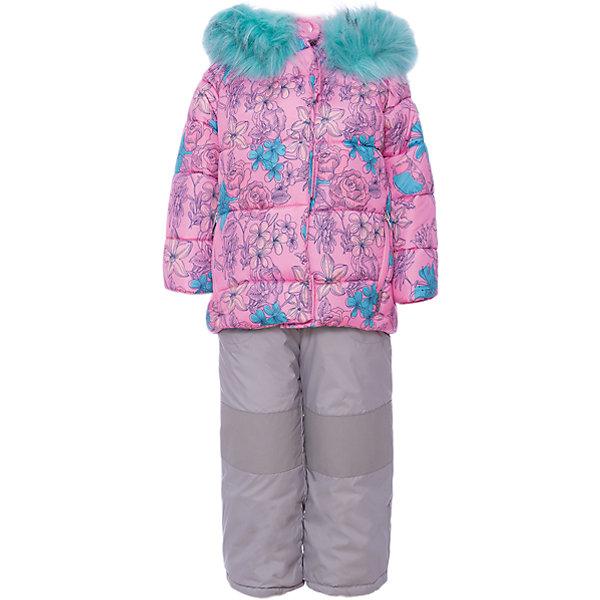 Комплект: куртка и полукомбинезон BOOM by Orby для девочкиВерхняя одежда<br>Характеристики товара:<br><br>• цвет: розовый<br>• комплектация: куртка, полукомбинезон <br>• состав ткани: таффета pu milky<br>• подкладка: хлопок, флис, полиэстер пуходержащий<br>• утеплитель: эко синтепон<br>• сезон: зима<br>• температурный режим: от 0 до -30С<br>• плотность утеплителя: куртка - 400 г/м2, полукомбинезон - 200 г/м2<br>• капюшон: с мехом<br>• застежка: молния<br>• страна бренда: Россия<br>• страна изготовитель: Россия<br><br>Оригинальный зимний комплект для детей поможет обеспечить ребенку комфортный уровень утепления. Детский теплый комплект украшен красивым принтом. Комплект для девочки дополнен удобным капюшоном, планкой от ветра и карманами. Этот зимний детский комплект создан специально для девочек. <br><br>Комплект: куртка и полукомбинезон для девочки BOOM by Orby (Бум бай Орби) можно купить в нашем интернет-магазине.<br>Ширина мм: 356; Глубина мм: 10; Высота мм: 245; Вес г: 519; Цвет: розовый; Возраст от месяцев: 12; Возраст до месяцев: 18; Пол: Женский; Возраст: Детский; Размер: 86,122,116,110,104,98,92; SKU: 7090089;