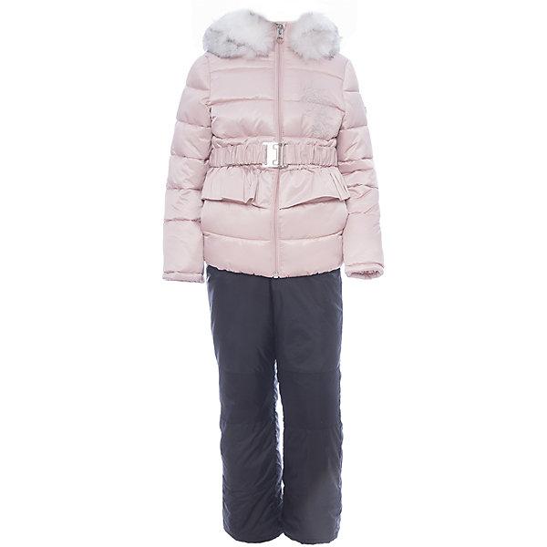 Комплект: куртка и полукомбинезон BOOM by Orby для девочкиВерхняя одежда<br>Характеристики товара:<br><br>• цвет: розовый<br>• комплектация: куртка, полукомбинезон <br>• состав ткани: атлас курточный, таффета pu milky<br>• подкладка: хлопок, флис, полиэстер пуходержащий<br>• утеплитель: эко синтепон<br>• сезон: зима<br>• температурный режим: от 0 до -30С<br>• плотность утеплителя: куртка - 400 г/м2, полукомбинезон - 200 г/м2<br>• капюшон: с мехом<br>• застежка: молния<br>• страна бренда: Россия<br>• страна изготовитель: Россия<br><br>Этот детский теплый комплект украшен опушкой. Комплект для девочки дополнен удобным капюшоном и карманами. Этот зимний детский комплект создан специально для девочек. Оригинальный зимний комплект для детей поможет обеспечить ребенку комфортный уровень утепления. <br><br>Комплект: куртка и полукомбинезон для девочки BOOM by Orby (Бум бай Орби) можно купить в нашем интернет-магазине.<br><br>Ширина мм: 356<br>Глубина мм: 10<br>Высота мм: 245<br>Вес г: 519<br>Цвет: розовый<br>Возраст от месяцев: 60<br>Возраст до месяцев: 72<br>Пол: Женский<br>Возраст: Детский<br>Размер: 116,86,122,110,104,98,92<br>SKU: 7090146