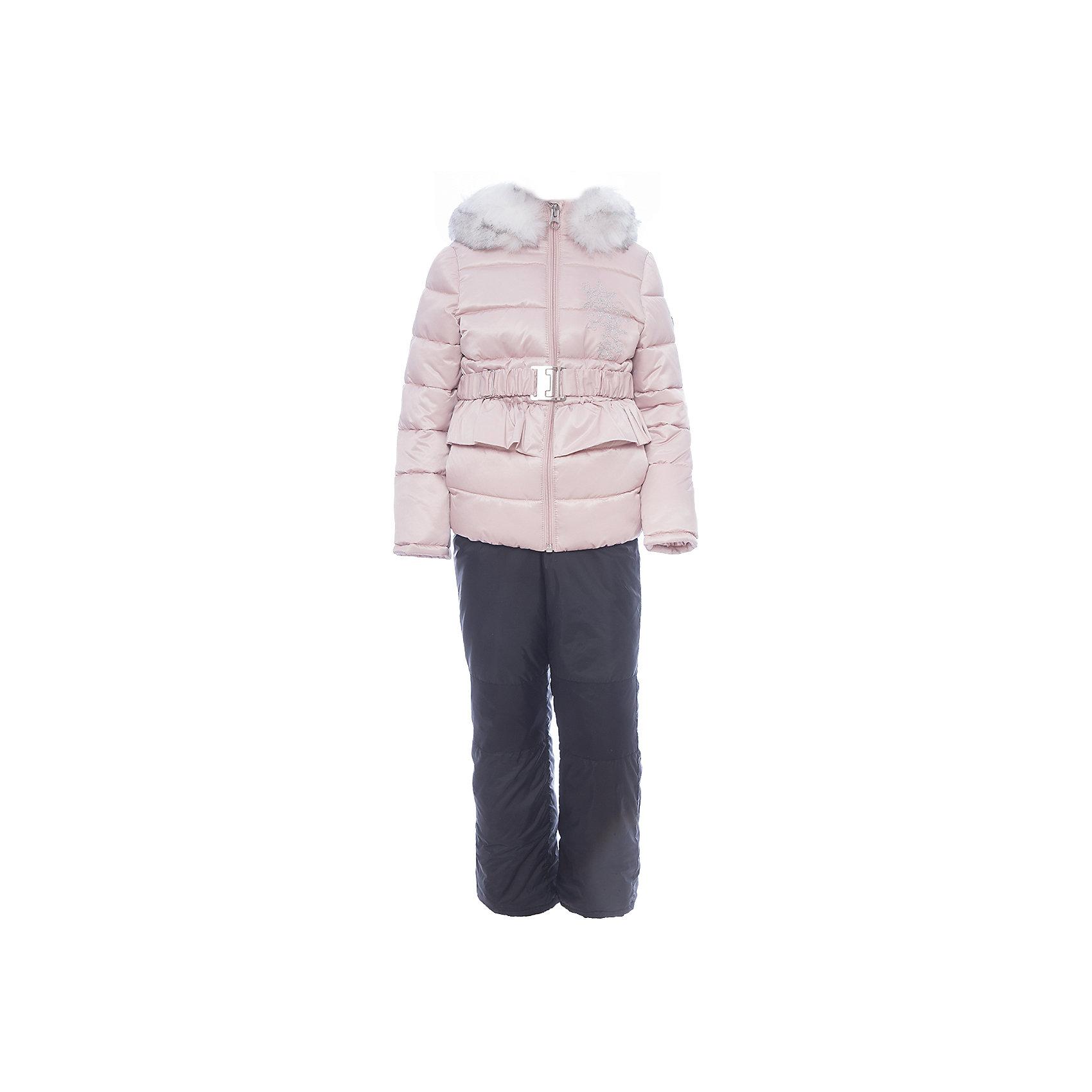 Комплект: куртка и полукомбинезон BOOM by Orby для девочкиВерхняя одежда<br>Характеристики товара:<br><br>• цвет: розовый<br>• комплектация: куртка, полукомбинезон <br>• состав ткани: атлас курточный, таффета pu milky<br>• подкладка: хлопок, флис, полиэстер пуходержащий<br>• утеплитель: эко синтепон<br>• сезон: зима<br>• температурный режим: от 0 до -30С<br>• плотность утеплителя: куртка - 400 г/м2, полукомбинезон - 200 г/м2<br>• капюшон: с мехом<br>• застежка: молния<br>• страна бренда: Россия<br>• страна изготовитель: Россия<br><br>Этот детский теплый комплект украшен опушкой. Комплект для девочки дополнен удобным капюшоном и карманами. Этот зимний детский комплект создан специально для девочек. Оригинальный зимний комплект для детей поможет обеспечить ребенку комфортный уровень утепления. <br><br>Комплект: куртка и полукомбинезон для девочки BOOM by Orby (Бум бай Орби) можно купить в нашем интернет-магазине.<br><br>Ширина мм: 356<br>Глубина мм: 10<br>Высота мм: 245<br>Вес г: 519<br>Цвет: розовый<br>Возраст от месяцев: 72<br>Возраст до месяцев: 84<br>Пол: Женский<br>Возраст: Детский<br>Размер: 122,86,92,98,104,110,116<br>SKU: 7090146