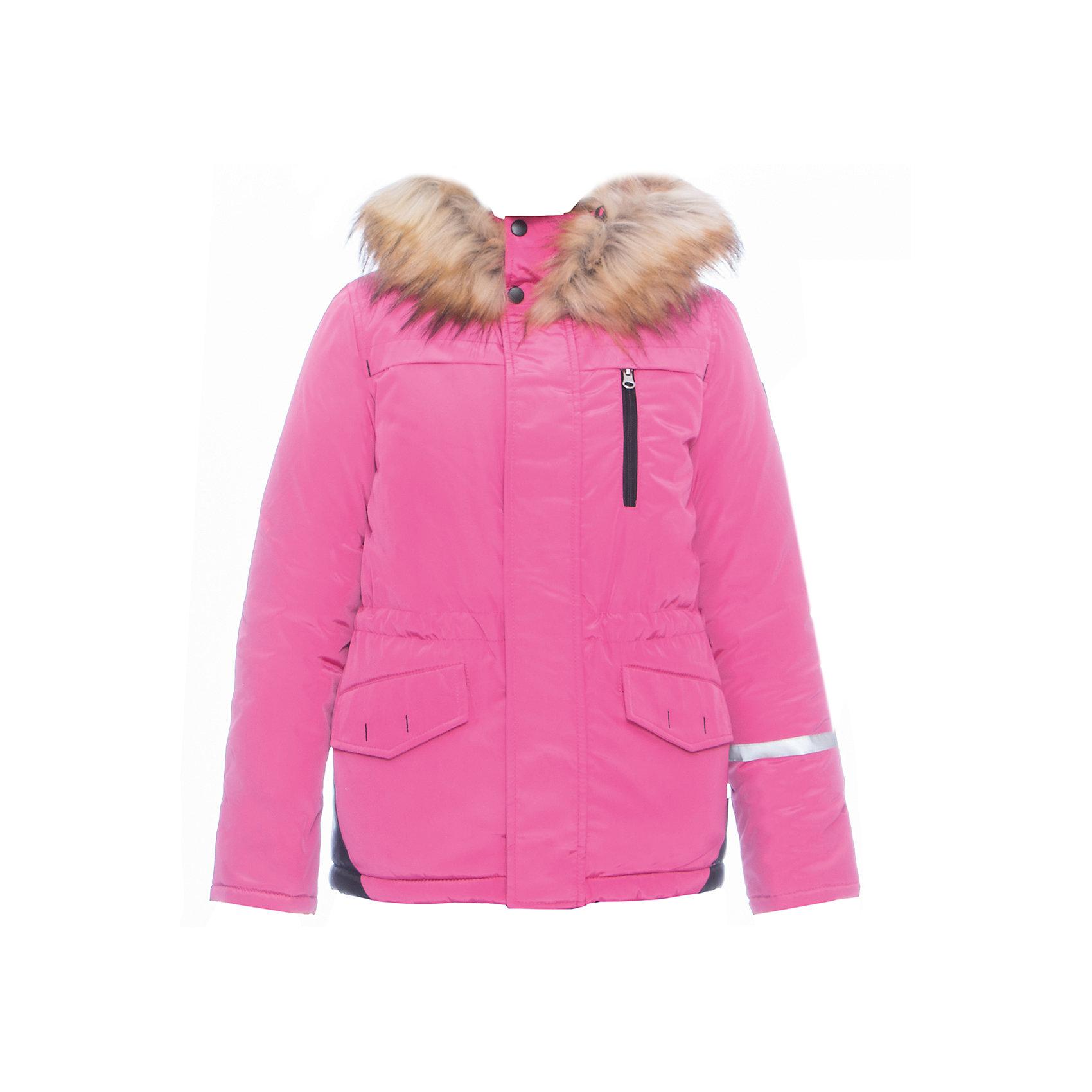 Куртка BOOM by OrbyВерхняя одежда<br>Характеристики товара:<br><br>• цвет: фуксия<br>• состав ткани: твил pu milky<br>• подкладка: хлопок, флис, полиэстер пуходержащий<br>• утеплитель: эко синтепон <br>• сезон: зима<br>• температурный режим: от 0 до -30С<br>• плотность утеплителя: 400 г/м2<br>• капюшон: с мехом<br>• застежка: молния<br>• страна бренда: Россия<br>• страна изготовитель: Россия<br><br>Зимняя куртка для ребенка поможет защитить ребенка от холода. Детская теплая куртка дополнена удобным капюшоном, планкой от ветра и карманами. Такая детская куртка отлично подойдет для зимних холодов - в этой зимней куртке хороший утеплитель. <br><br>Куртку BOOM by Orby (Бум бай Орби) можно купить в нашем интернет-магазине.<br><br>Ширина мм: 356<br>Глубина мм: 10<br>Высота мм: 245<br>Вес г: 519<br>Цвет: розовый<br>Возраст от месяцев: 144<br>Возраст до месяцев: 156<br>Пол: Унисекс<br>Возраст: Детский<br>Размер: 158,98,104,110,116,122,128,134,140,146,152<br>SKU: 7090190