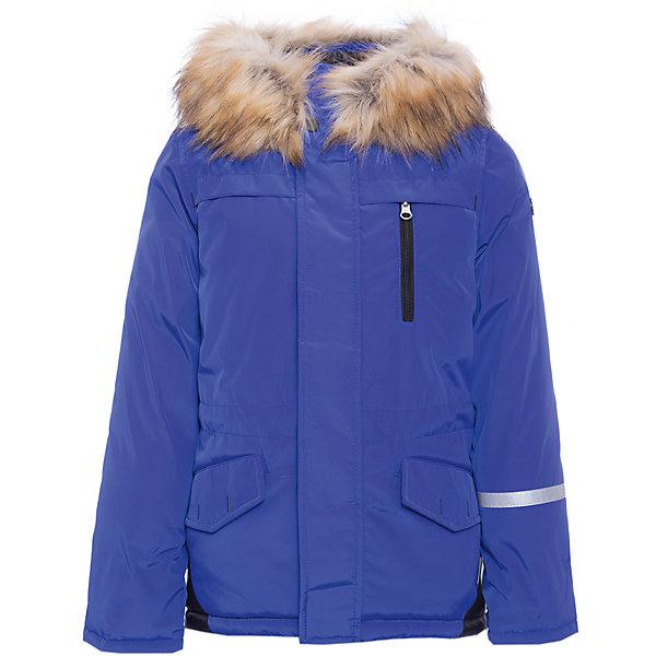 Куртка BOOM by Orby для мальчикаВерхняя одежда<br>Характеристики товара:<br><br>• цвет: синий<br>• состав ткани: твил pu milky<br>• подкладка: хлопок, флис, полиэстер пуходержащий<br>• утеплитель: эко синтепон <br>• сезон: зима<br>• температурный режим: от 0 до -30С<br>• плотность утеплителя: 400 г/м2<br>• капюшон: с мехом<br>• застежка: молния<br>• страна бренда: Россия<br>• страна изготовитель: Россия<br><br>Практичная теплая куртка имеет удобный капюшон с опушкой. Зимняя куртка для ребенка поможет обеспечить необходимый уровень комфорта в морозы. Плотная ткань и утеплитель зимней куртки защитят ребенка от холодного воздуха. <br><br>Куртку для девочки BOOM by Orby (Бум бай Орби) можно купить в нашем интернет-магазине.<br>Ширина мм: 356; Глубина мм: 10; Высота мм: 245; Вес г: 519; Цвет: синий; Возраст от месяцев: 24; Возраст до месяцев: 36; Пол: Мужской; Возраст: Детский; Размер: 98,158,152,146,140,134,128,122,116,110,104; SKU: 7090202;