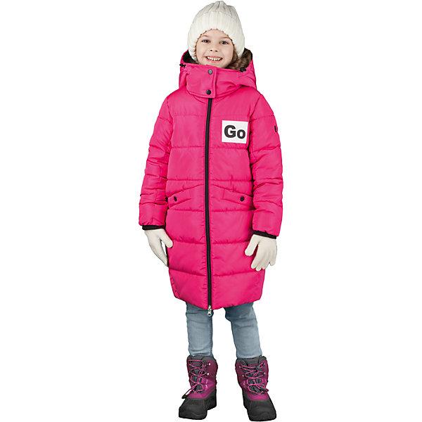 Пальто BOOM by Orby для девочкиВерхняя одежда<br>Характеристики товара:<br><br>• цвет: фуксия<br>• состав ткани: твил pu milky<br>• подкладка: хлопок, флис, полиэстер пуходержащий<br>• утеплитель: эко синтепон<br>• сезон: зима<br>• температурный режим: от 0 до -30С<br>• плотность утеплителя: 400 г/м2<br>• капюшон: с мехом<br>• застежка: молния<br>• страна бренда: Россия<br>• страна изготовитель: Россия<br><br>Яркое зимнее пальто украшено принтом и дополнено удобным капюшоном, а также карманами. Такое детское пальто отлично подойдет для зимних холодов - подкладка и наполнитель для зимнего пальто рассчитаны на морозную погоду. Зимнее пальто для девочки поможет обеспечить тепло и комфорт. <br><br>Пальто для девочки BOOM by Orby (Бум бай Орби) можно купить в нашем интернет-магазине.<br><br>Ширина мм: 356<br>Глубина мм: 10<br>Высота мм: 245<br>Вес г: 519<br>Цвет: розовый<br>Возраст от месяцев: 108<br>Возраст до месяцев: 120<br>Пол: Женский<br>Возраст: Детский<br>Размер: 140,134,146,152,158,104,110,116,122,128,98<br>SKU: 7090352