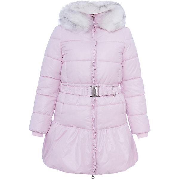 Пальто BOOM by Orby для девочкиВерхняя одежда<br>Характеристики товара:<br><br>• цвет: розовый<br>• состав ткани: болонь pu milky<br>• подкладка: хлопок, флис, полиэстер пуходержащий<br>• утеплитель: эко синтепон<br>• сезон: зима<br>• температурный режим: от 0 до -30С<br>• плотность утеплителя: 400 г/м2<br>• капюшон: с мехом<br>• застежка: молния<br>• страна бренда: Россия<br>• страна изготовитель: Россия<br><br>Плотная ткань и утеплитель зимнего пальто защитят ребенка от холодного воздуха. Это удлиненное пальто стильно смотрится, оно украшено искусственным мехом. Модное теплое пальто имеет удобный капюшон. Зимнее пальто для ребенка поможет обеспечить необходимый уровень комфорта в морозы. <br><br>Пальто для девочки BOOM by Orby (Бум бай Орби) можно купить в нашем интернет-магазине.<br>Ширина мм: 356; Глубина мм: 10; Высота мм: 245; Вес г: 519; Цвет: розовый; Возраст от месяцев: 144; Возраст до месяцев: 156; Пол: Женский; Возраст: Детский; Размер: 158,98,104,110,116,122,128,134,140,146,152; SKU: 7090376;
