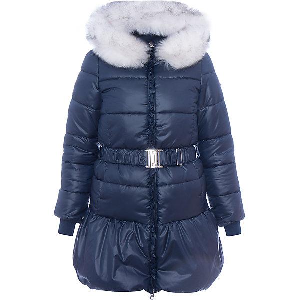 Пальто BOOM by Orby для девочкиВерхняя одежда<br>Характеристики товара:<br><br>• цвет: синий<br>• состав ткани: болонь pu milky<br>• подкладка: хлопок, флис, полиэстер пуходержащий<br>• утеплитель: эко синтепон<br>• сезон: зима<br>• температурный режим: от 0 до -30С<br>• плотность утеплителя: 400 г/м2<br>• капюшон: с мехом<br>• застежка: молния<br>• страна бренда: Россия<br>• страна изготовитель: Россия<br><br>Зимнее пальто для девочки поможет обеспечить тепло и комфорт. Модное зимнее пальто украшено опушкой и дополнено удобным капюшоном, а также карманами. Такое детское пальто отлично подойдет для зимних холодов - подкладка и наполнитель для зимнего пальто рассчитаны на морозную погоду. <br><br>Пальто для девочки BOOM by Orby (Бум бай Орби) можно купить в нашем интернет-магазине.<br><br>Ширина мм: 356<br>Глубина мм: 10<br>Высота мм: 245<br>Вес г: 519<br>Цвет: синий<br>Возраст от месяцев: 24<br>Возраст до месяцев: 36<br>Пол: Женский<br>Возраст: Детский<br>Размер: 146,140,134,128,122,116,110,104,98,158,152<br>SKU: 7090388
